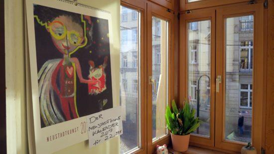 Neustadtkunst als Kalender
