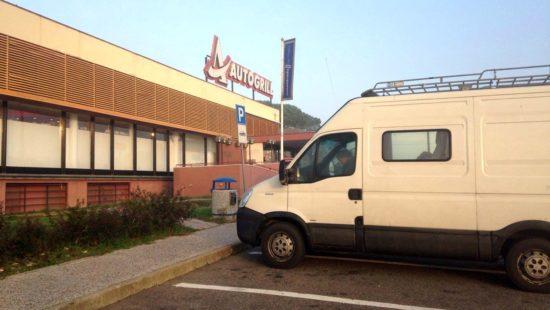 Zwischenstopp in Norditalien