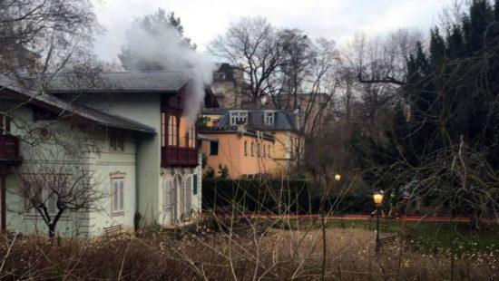 Rauch überm Kraszewski-Museum