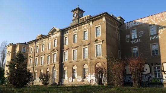 60 Wohnungen sollen nun auf dem Gelände der ehemaligen Arbeitsanstalt entstehen.