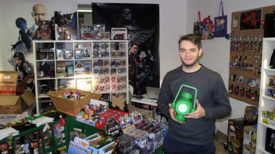 "Philipp Maertens, Chef und Fan von ""The Green Lantern"""