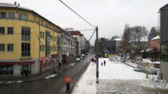 Die derzeit schwierigste Ecke der Neustadt: die Alaunstraße.