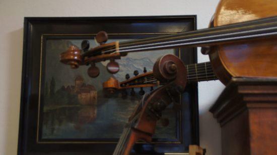 Auf historischen Instrumenten erweckt Geigenbaumeister Eulenhaupt teilweise 300 Jahre alte Stücke wieder zum Leben