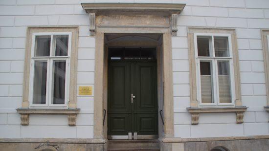 Die Wolfsgasse Nummer 3 - Heim von Richard Wagner, der ab 1822 in Dresden die Kreuzschule besuchte