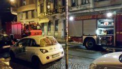 Feuerwehr im Einsatz auf der Görlitzer Straße - Foto: Mario