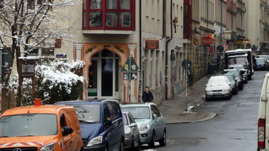 Keine orientalische Lounge mehr an der Louise-/Ecke Alaunstraße.