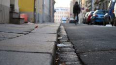 Der Ort des Verbrechens: Martin-Luther-Straße - ein Vierteljahrhundert danach.
