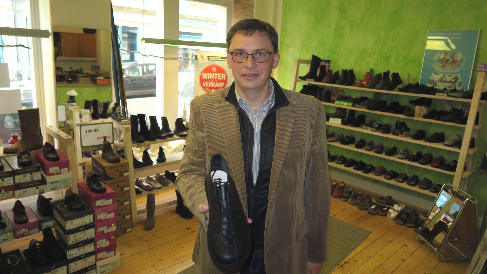 Hat Schau-Fuss übernommen: Jens-Uwe Gebler
