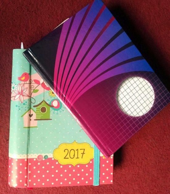 Gefundene Notizbücher