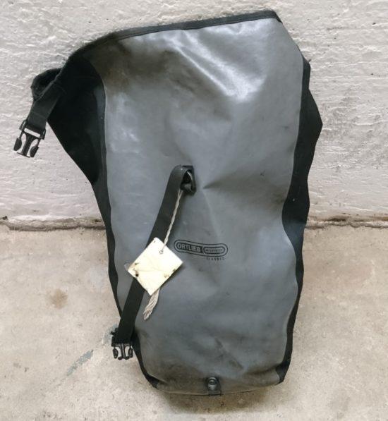 Gefundene Radtasche