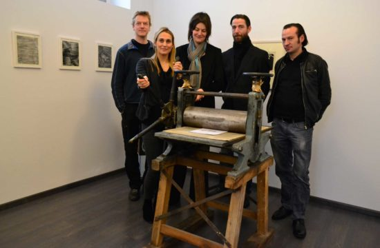 Jan Kromke, Maria Bertelsmeier, Sybille Nütt, Oliver Kratz und Silvio Zesch (v.l.)