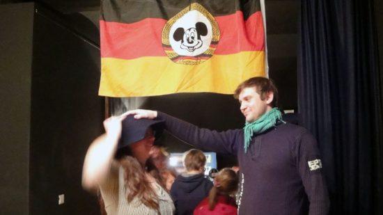 Hutübergabe - Ex-Direktor Sebastian Schwerk übergab 2010 den Hut an Ulla Wacker.