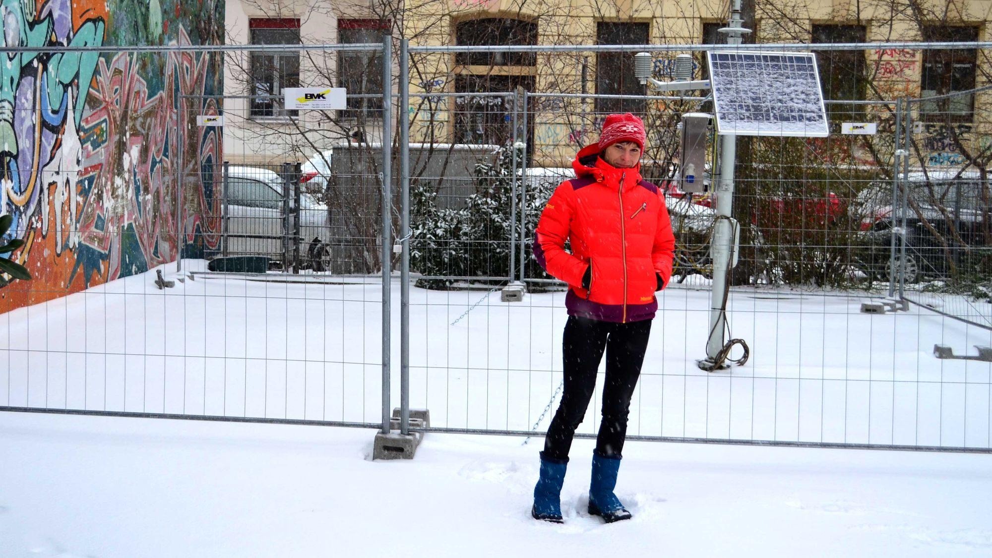 Franziska Reinfried im Umweltamt, Sachgebiet Stadtökologie zuständig für das Stadtklima
