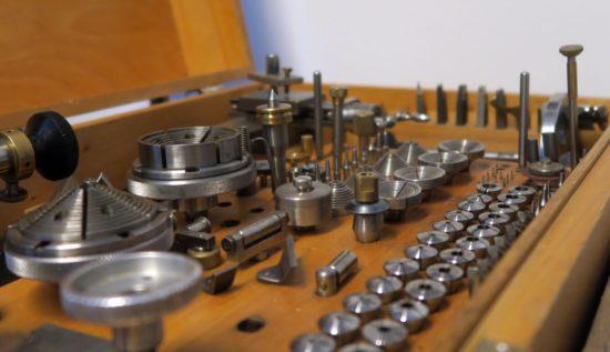 Uhrmacher-Werkzeug