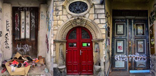 Die Türen sind auch der Kunst