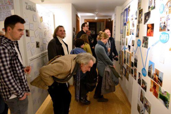 der Eröffnung des neuen Ausstellungssaals