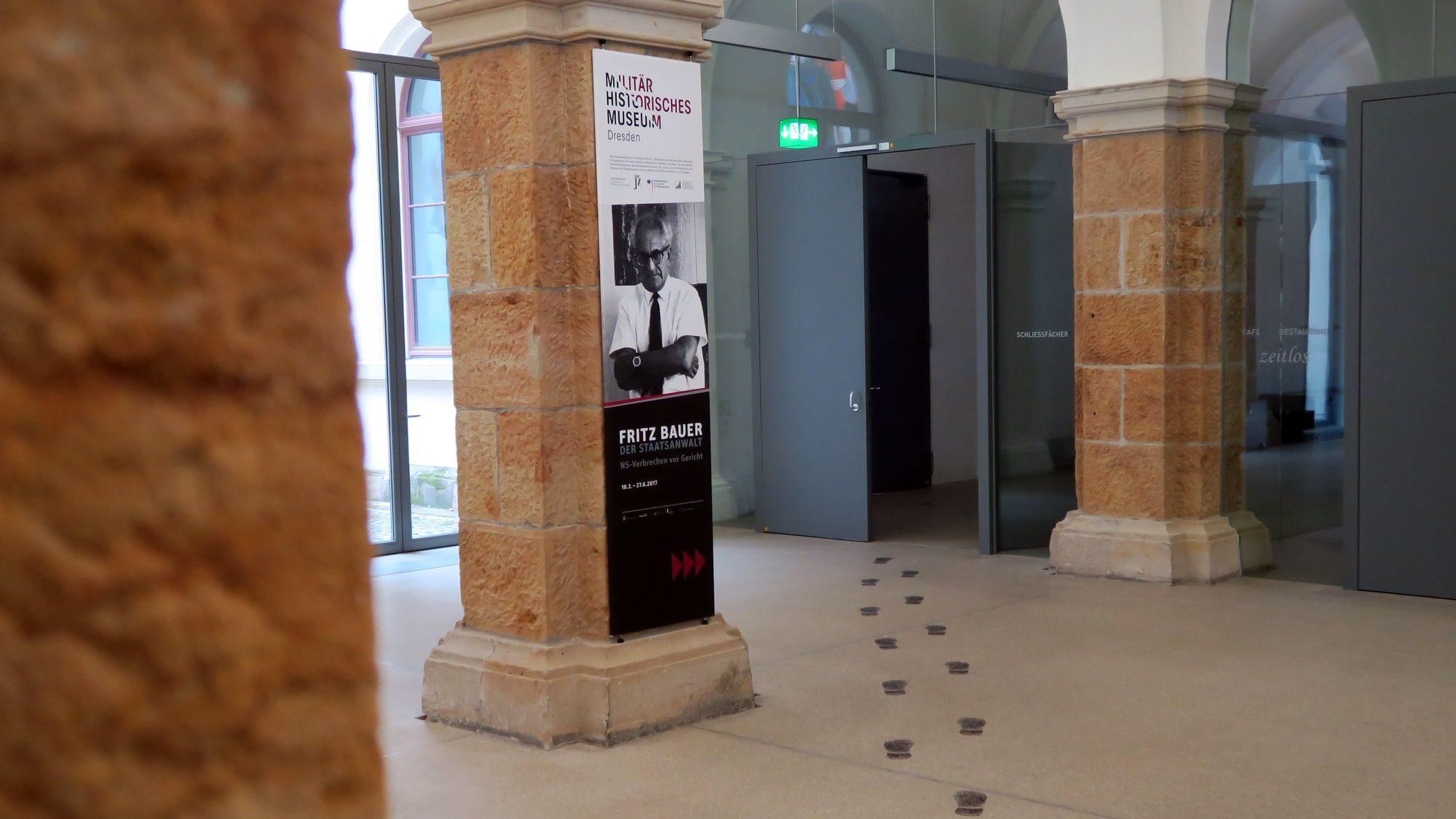 Fritz-Bauer-Ausstellung im Militärhistorischen Museum