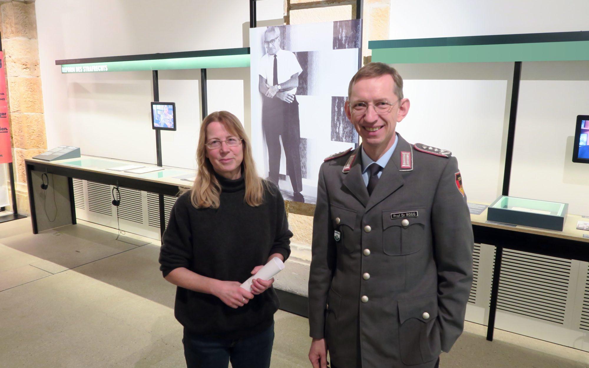 Kuratorin Monika Boll und Museumsdirektor Matthias Rogg