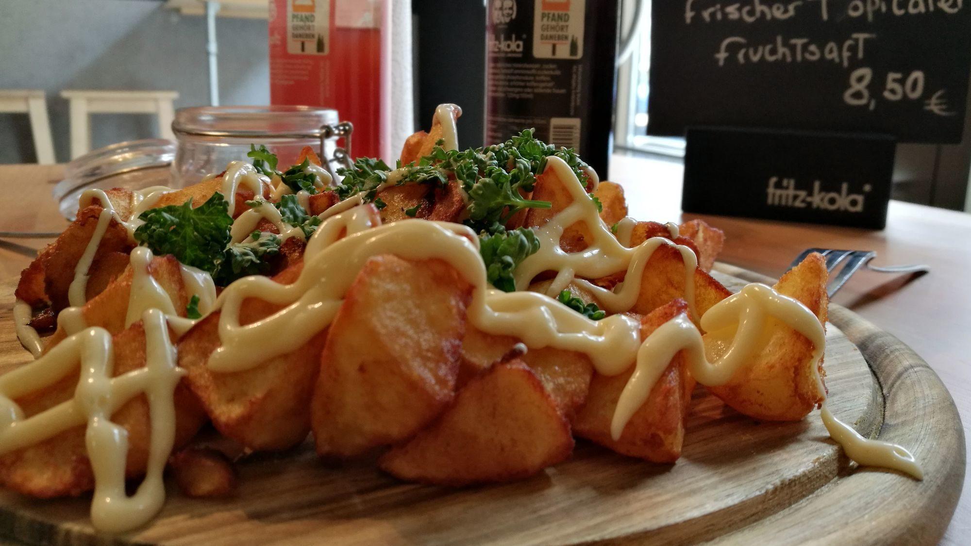Patatas bravas - Kartoffelecken