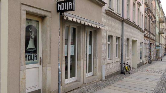 Die Klubgalerie Kolja wurde beklaut.