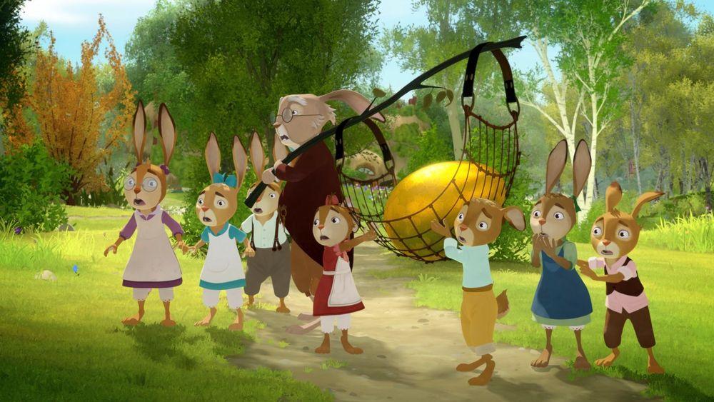 Die Häschenschule - Jagd nach dem goldenen Ei