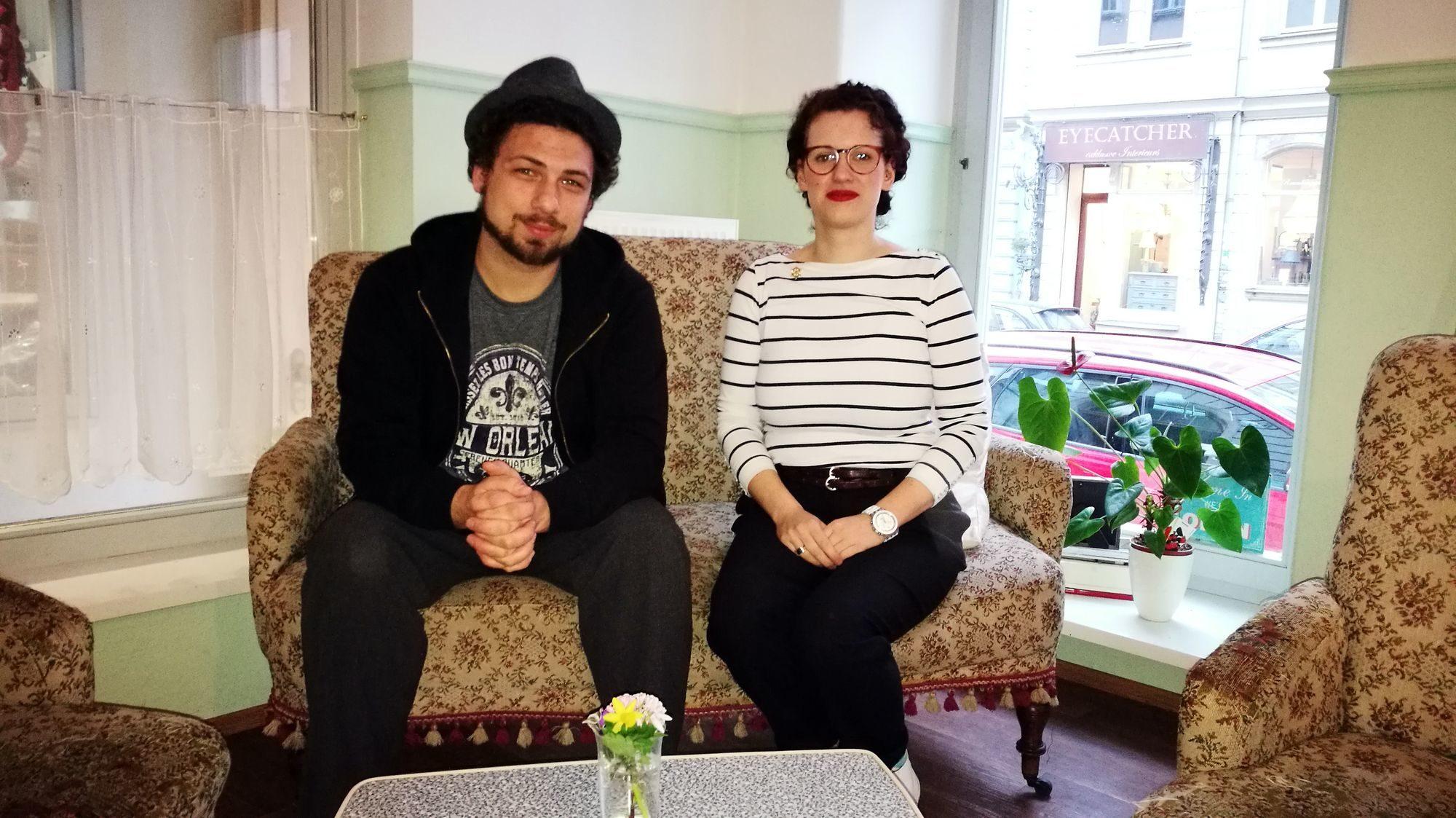 """Falko Pietsch und Susanne Behner kochen und backen künftig in """"Fiete Behnersens V-Cake"""""""