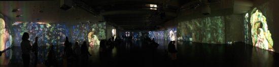 eine audiovisuelle 360-Grad-Show