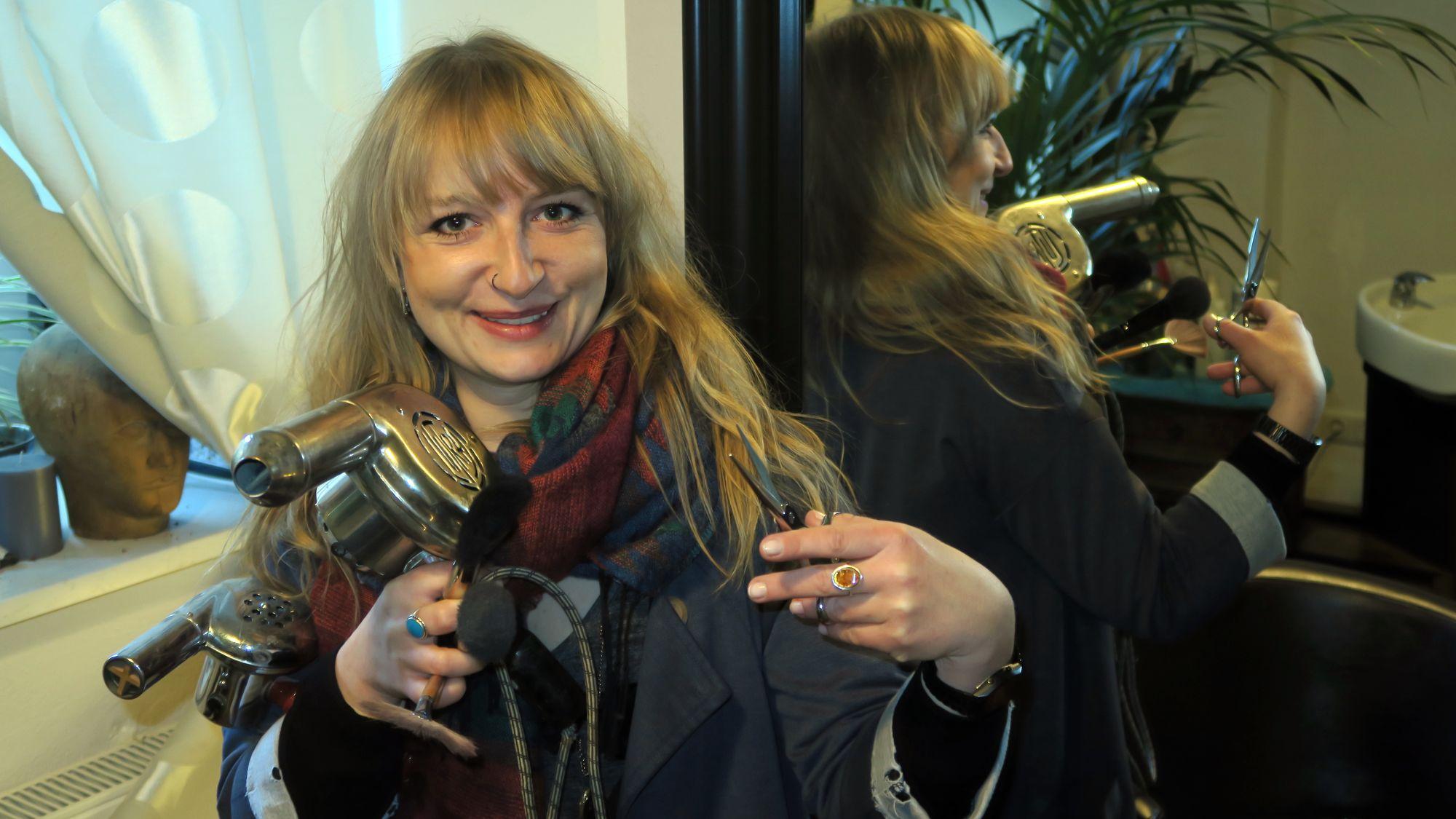 Friseurin mit Leidenschaft: Nadine Kaiser
