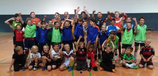 Fußballcamp: Nachwuchskicker beim SC Borea