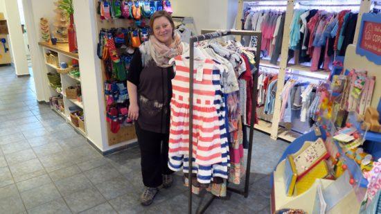 Tina Petzold - die gute Seele des Kinderladens Bambini