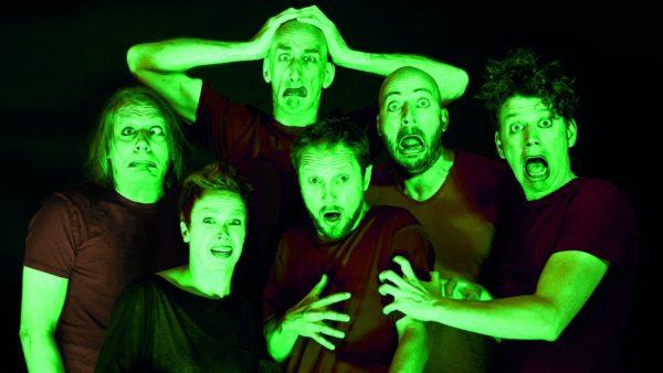 """Vollplaybacktheater interpretiert: """"Die drei Fragezeichen und der grüne Geist"""""""