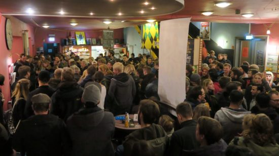 Premieren-Publikum in der Schauburg