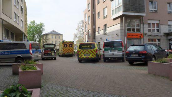 Die Tote ist in einem Haus an der Alaunstraße gefunden worden.