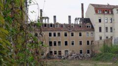 Die Hungerstil-Ruine Ende April