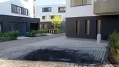 Der Julie-Salinger-Weg führt durch das Hofquartier von der Bautzner zur Böhmischen Straße.