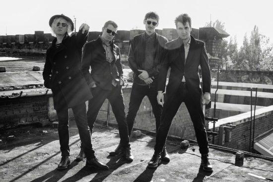 Paisley spielen psychedelische Britpop-Songs, feinfühlige Balladen und krachigen Rock. Foto: PR/Réne Limbecker