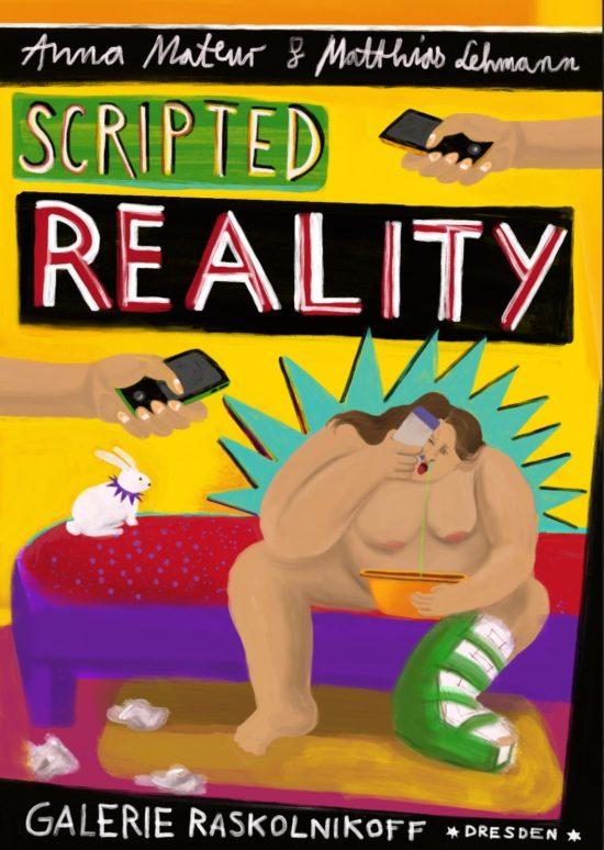 Scripted Reality - Zeichnung: Anna Maria Scholz