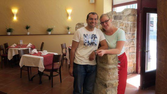 Kerstin und Sheref Hassan führen das Sherazade