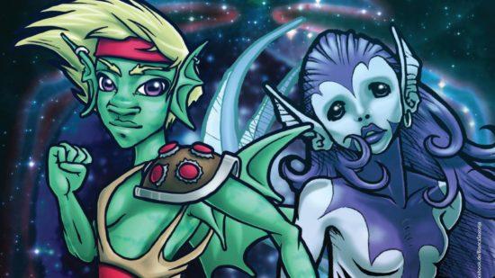 Ausschnitt aus dem Poster zum Comicfest - Zeichnung: Bianca Saxonja