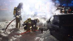 Heute nimmt ein Brandursachenermittler seine Arbeit am Tatort auf.