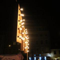 BRN-Beleuchtung von der Seite