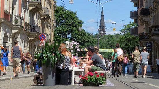 Frühstücken auf der Görlitzer Straße