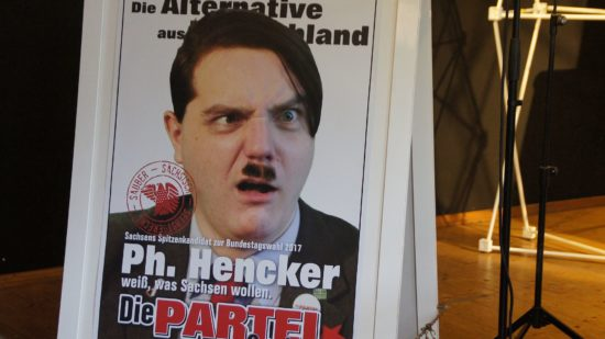 Das neue Wahlplakat der PARTEI