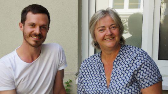 Issac Spencer und Isolde Matkey setzen sich für die Wiederbelebung der Villa Wigman als Tanzhaus in Dresden ein