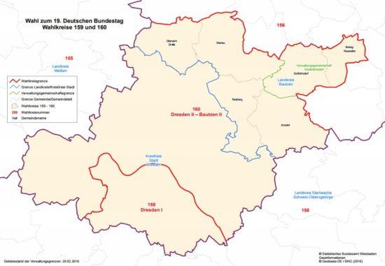 Wahlkreis 160 - Quelle: bundeswahlleiter.de
