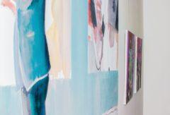 Aktuell hängen Bilder von Michael Ebel im Kulturraum Bebas.