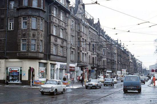 Seit den 1950er Jahren wird geplant. Die Königsbrücker vor rund 25 Jahren. Foto: Archiv - Lothar Lange
