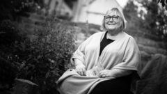 Friederike Beyer im Amselhof - Foto: André Wirsig