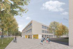 Visualisierung der künftigen Grundschule: Nitschke + Kollegen