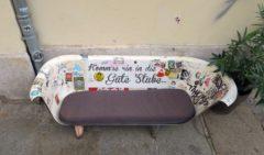 """Markenzeichen der """"Guten Stube"""" - die offene Wanne im Neustadt-Style"""